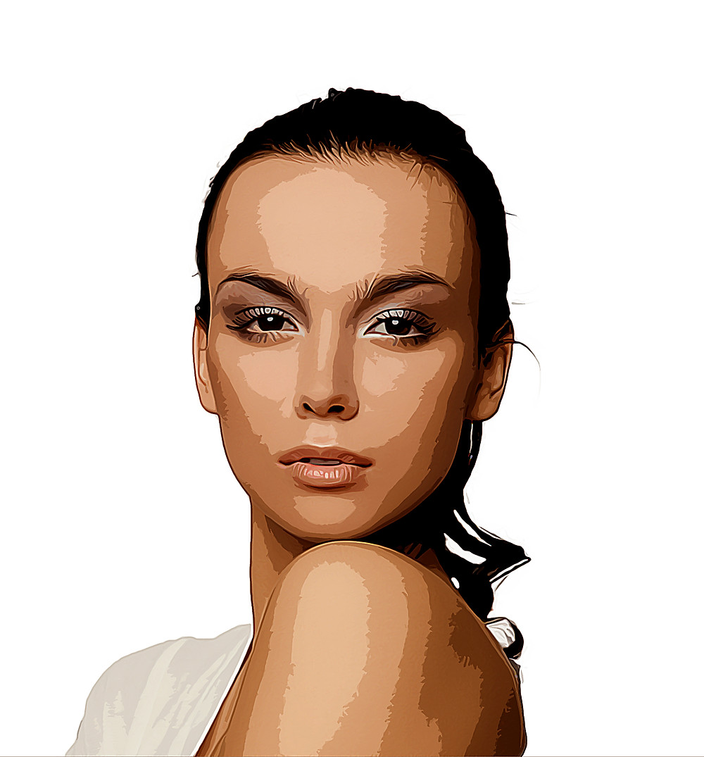 cartoon vector art effect in photoshop