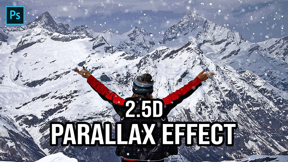 2.5d parallax effect in photoshop