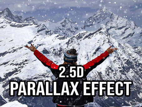 2.5D Parallax Effect | Photoshop Effects | Photoshop Tutorial