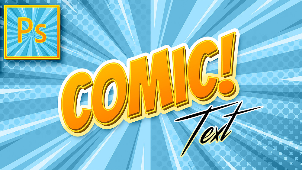 comic text effect