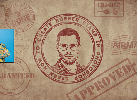 Photoshop Rubber Stamp Effect | Photoshop Tutorial