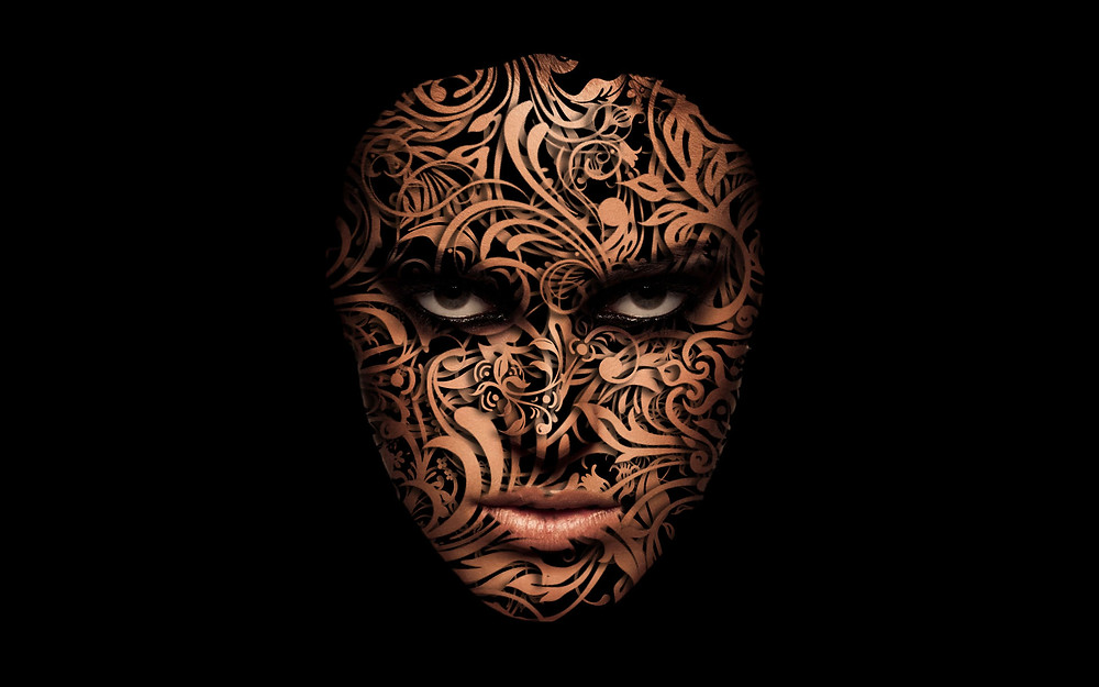face design effect in photoshop