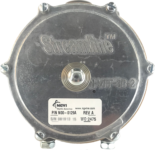 VFF30-2 Propane Vacuum Fuel Lock-Off, Forklift LP w/Primer Button, Non-UL