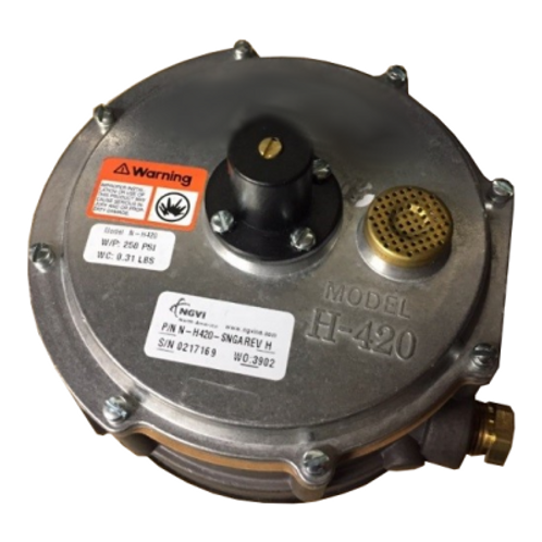 H420 Natural Gas Regulator/Converter/Vaporizer (Positive Pressure)
