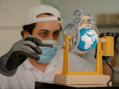 الطباعة ثلاثية  الأبعاد والبحث العلمي