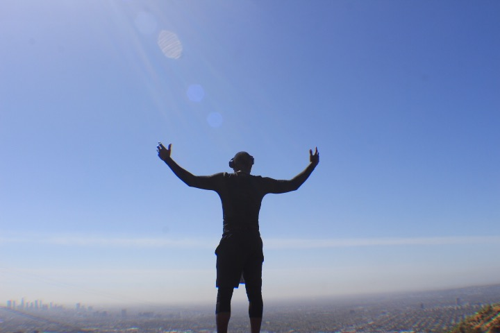 Top of Runyon Canyon (Hollywood)