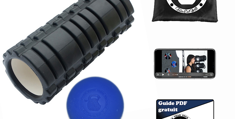 Pack Rouleau massage + lacross ball