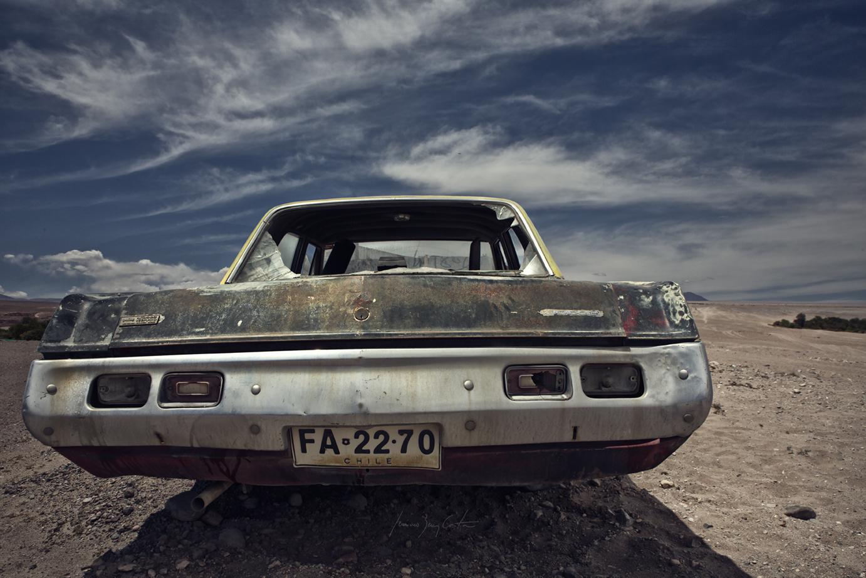 Dodge Dart Atacama desert