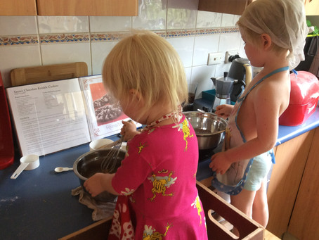 Cooking with young kids Part 1: Prepare your kitchen