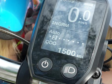 1500km on our cargo bike