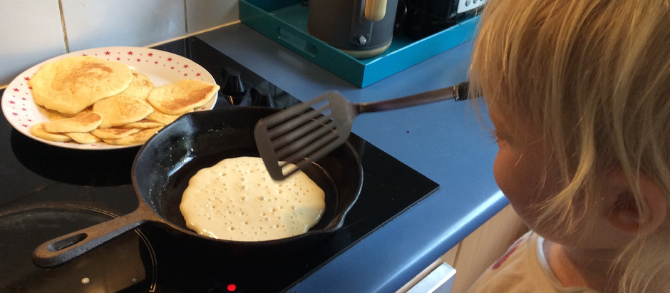 Pancakes two ways