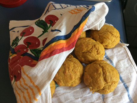 Baking with toddlers: Pumpkin muffins