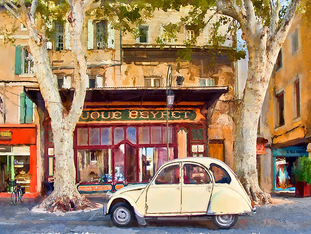 Sunday in Provence