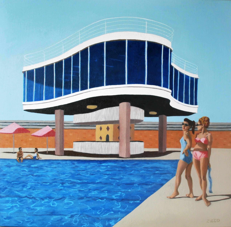 Centenary Pool - reflections