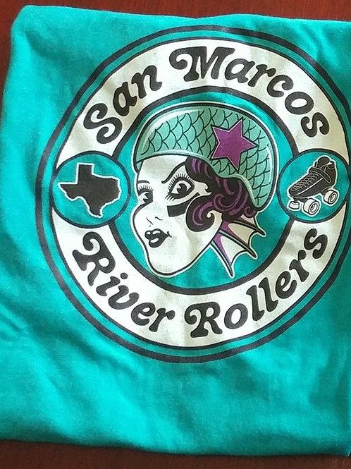 San Marcos River Rollers FAN t-shirt