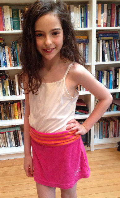 Pretty in Pink Sports Skirt