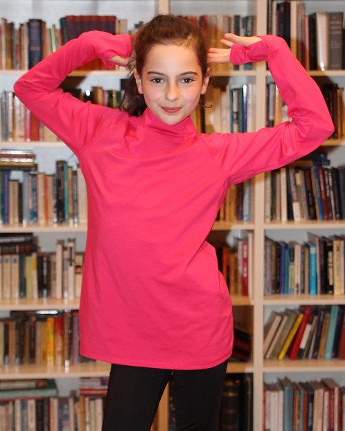 Pink Nike Shirt with Thumb Loops