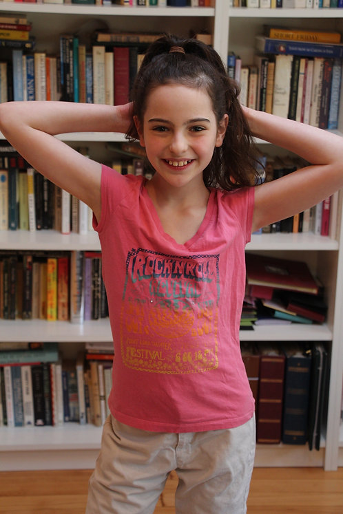 Rock 'N Roll Pink T-shirt