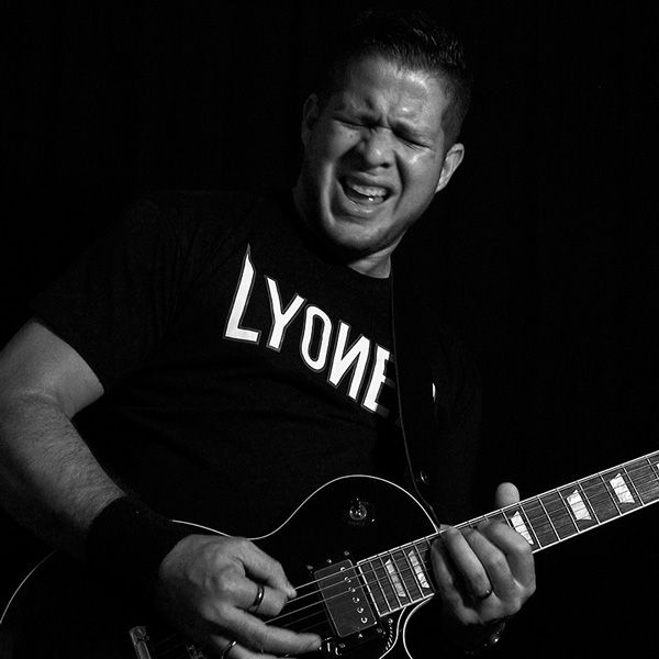 Tato Rivas playing guitar
