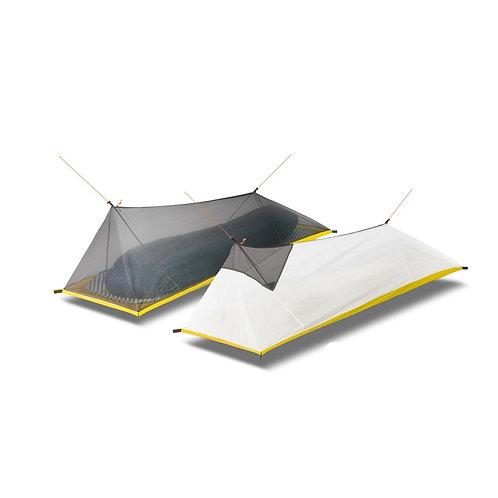 260g Ultra lett 1 pers telt med kun innsektsnett.