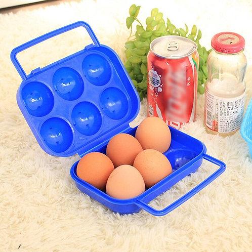 Egg boks - praktisk på tur