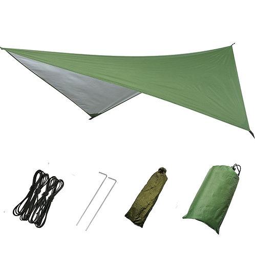 Camping Hammock Rain Fly Beach Sun Shelter Outdoor Awning Waterproof Tarp Tent