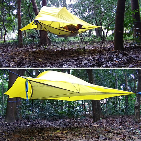 SKYSURF Camping Tree Tent 3-4 Persons  Tent Triangle Suspension Hanging Tent