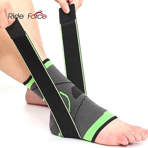 REXCHI 1 PC Pressurization Sports Ankle Brace Support 3D Weave Adjustable