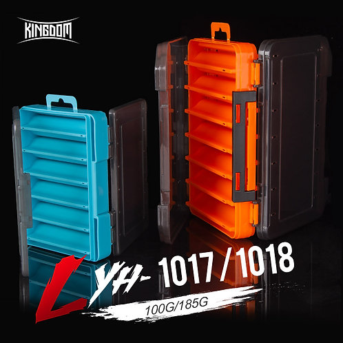 Kingdom Fishing Box 12 14 Compartments Fishing Accessories Lure Hook Boxes