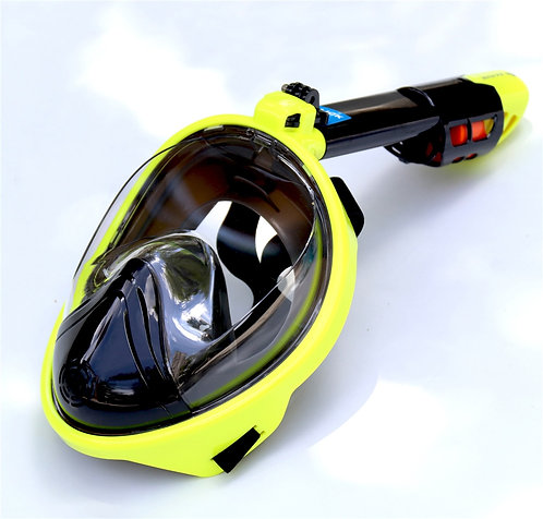 Full Face Diving Mask 180 Degree Panoramic View Underwater Snorkeling Mask