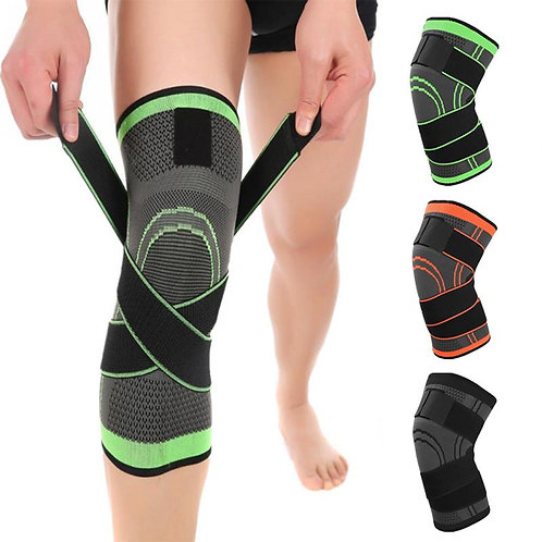 1PCS Professional Protective Fitness Knee Support Breathable Bandage