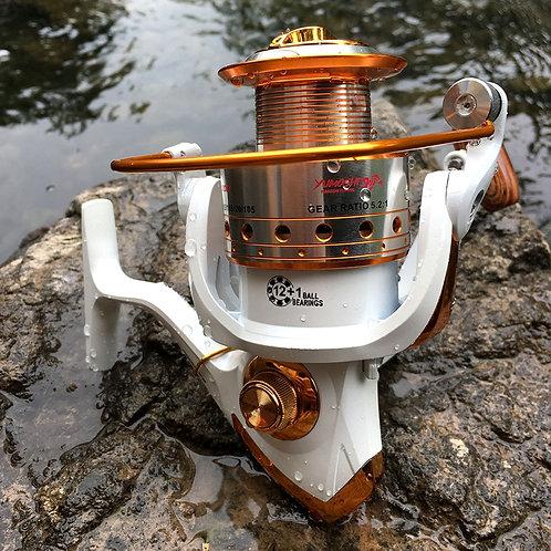 Fishing Reel Spinning 500-9000 Series Metal Spool Spinning Wheel for Sea Fishing