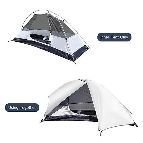 Ultralett telt til 1 person - 1450 gram