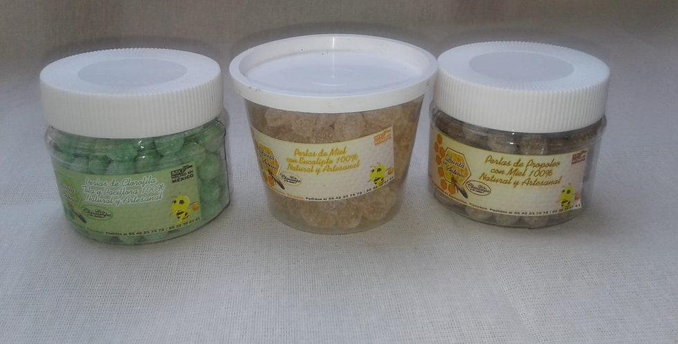 Perlas de miel