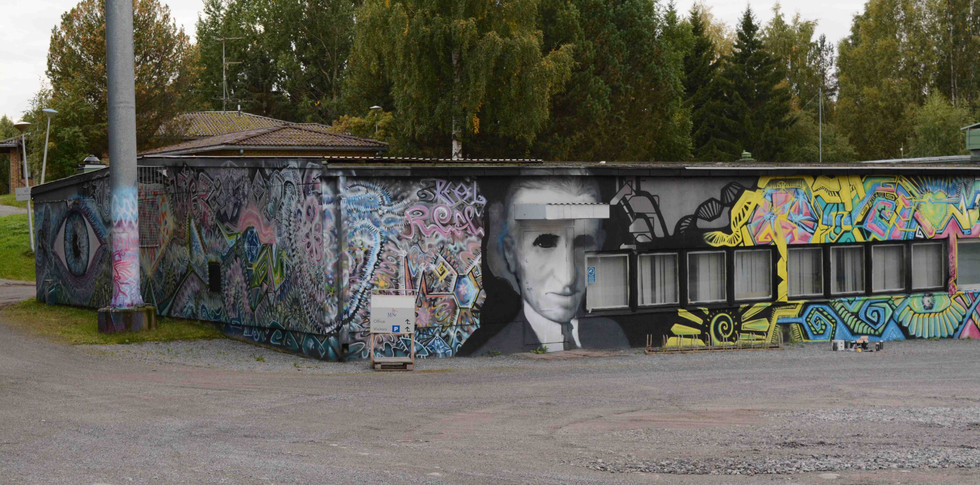 Commission mural for MSc Electronics Finland - 2016 -2017