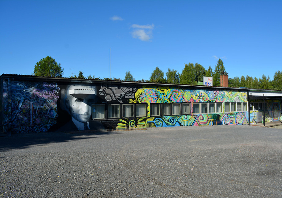 Commission mural for MSc Electronics Finland - 2017