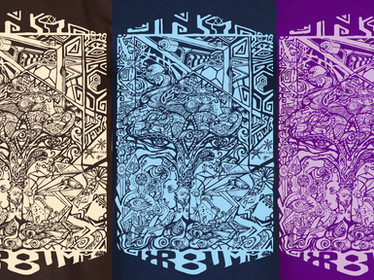 TaikaTalvi2018 - T-shirt & print design