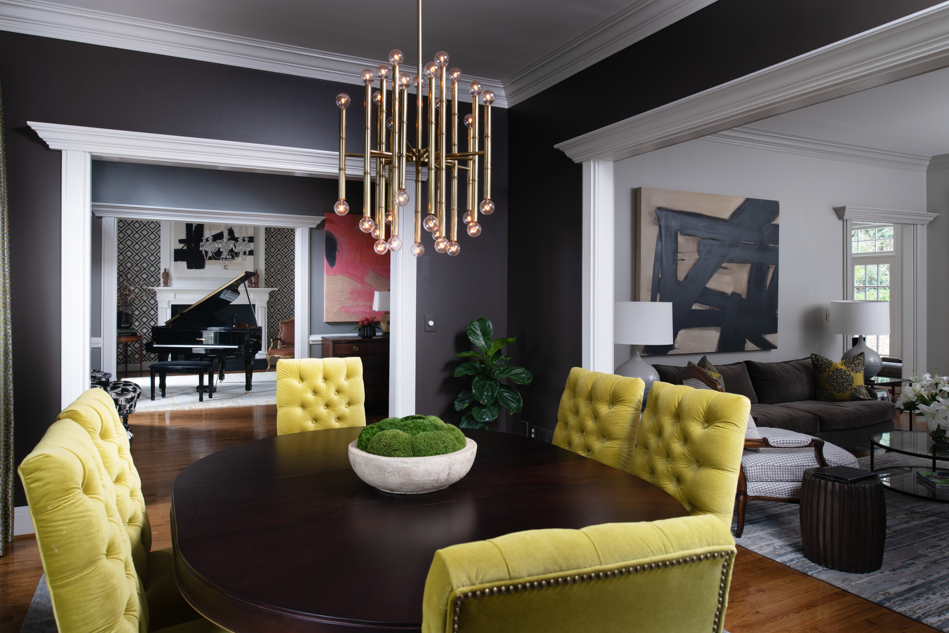 howell - dining room, piano room, living
