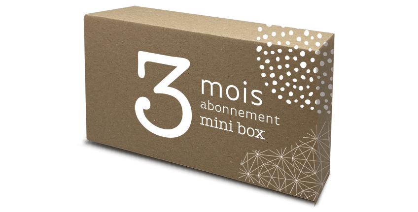 Abonnement mini box