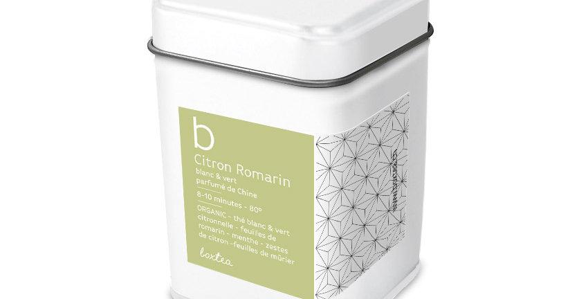 Thé blanc citron-romarin Organic