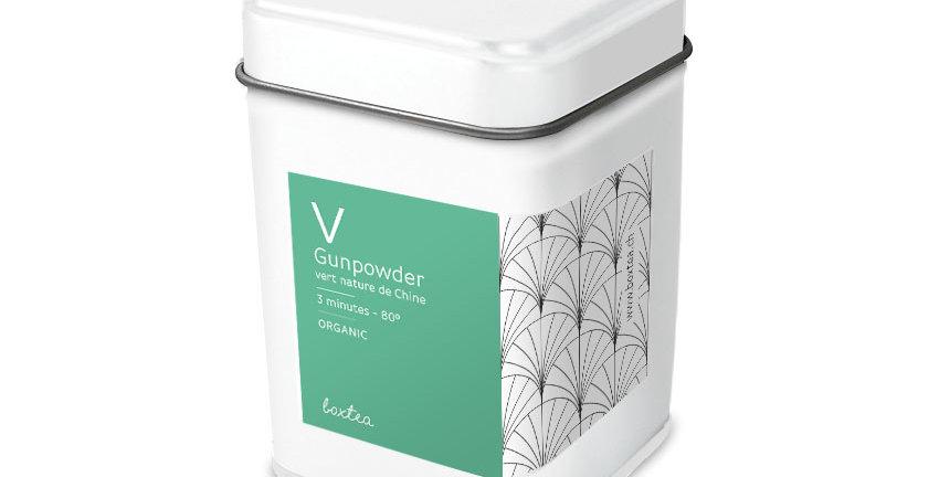 Thé vert Gunpowder Organic