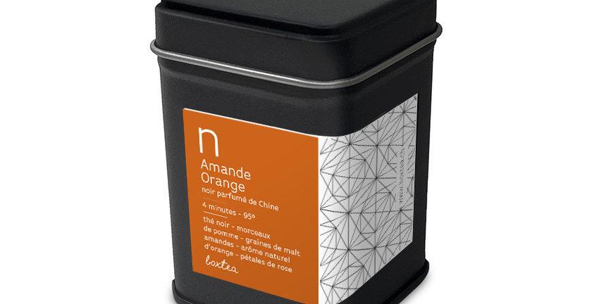 Thé noir amande-orange