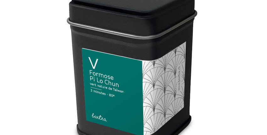 Thé vert Formose Pi Lo Chun
