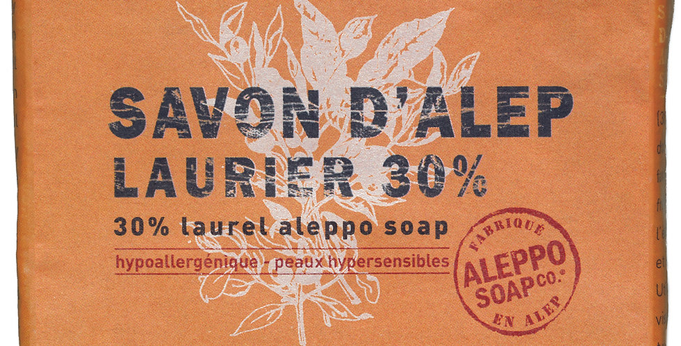 Pain savon Alep 30%
