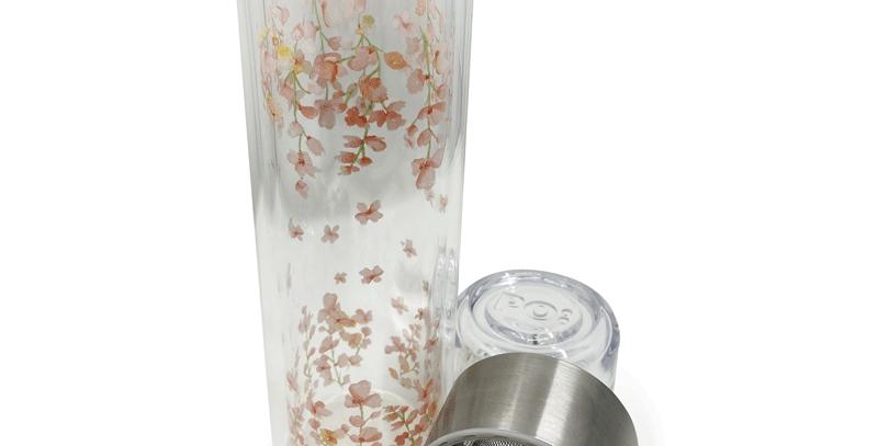 Mug en verre avec filtre 2dl