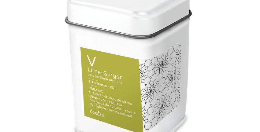Thé vert Lime-ginger Organic