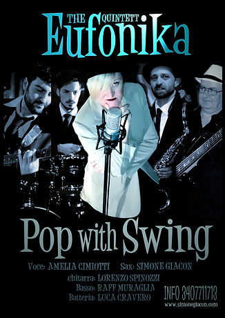 Eufonika Pop with Swing band jazz vintage