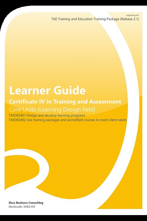 Learning Design Field – Learner Guide