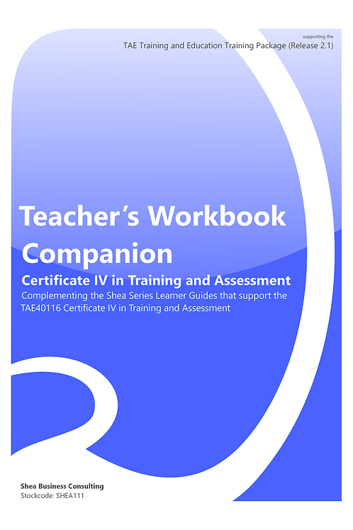 Teacher's Workbook Companion