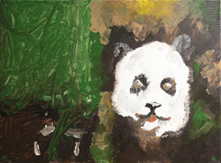 THE FOREST AND THE PANDA